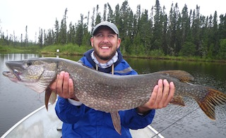 GIANT Northern Pike Fishing at Fireside Lodge Canada