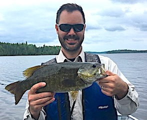 Trophy Smallmouth Bass Fishing at Fireside Lodge in Canada
