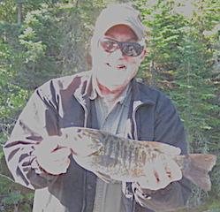 1st Canada Fishing Trip caught 4 Trophy Smallmouth Bass by John