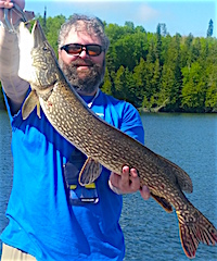 BIG Pike BIG Muskie or Both Fishing at Fireside Lodge by Steven