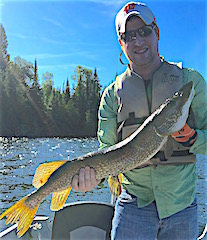 Fantastic Northern Pike Fishing at Fireside Lodge
