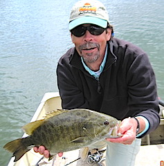 Super Smallmouth Bass Fishing at Fireside Lodge in Canada