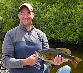 Trophy Smallmouth Bass by Mark Forsyth in Canada