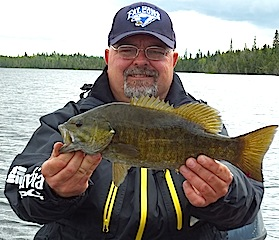 Smallmouth Fishing is Great in Canada at Fireside Lodge