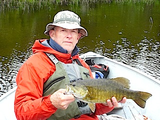 Trophy Smallmouth Bass Fishing Canada by Don Funderud
