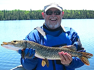 Northern Pike Fishing is Fun at Fireside Lodge