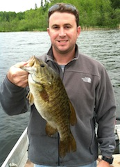 Five Trophy Smallmouth Bass Fishing at Fireside Lodge