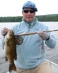 Fly Fishing in Northwest Ontario Canada at Fireside Lodge