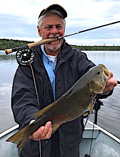 Monster Smallmouth Bass Fly-Fishing at Fireside Lodge in Canada by Mike