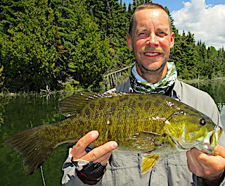 69 Trophy Smallmouth Bass Fishing at Fireside Lodge in Canada by Don and Dan