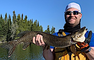 Northern Pike Fishing is a Blast at Fireside Lodge in Canada by Joe