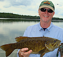 160 Big Smallmouth Bass in 1 Day Fishing at Fireside Lodge in Canada