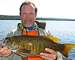 Unreal Trophy Smallmouth Bass Fishing at Fireside Lodge in Canada