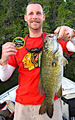 Master Anglers Trophy Smallmouth Bass by Don at Fireside Lodge