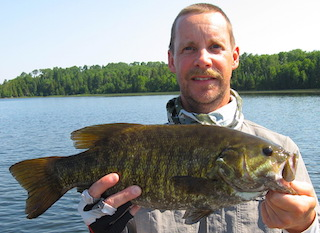 Plentiful Trophy Smallmouth Bass Fishing at Fireside Lodge in Canada by Don Landbo