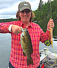 Great BIG Smallmouth Bass Catch Fishing by Helenin Canada