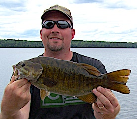 Trophy Smallmouth Bass are Terrific at Fireside Lodge by Ross Beavers