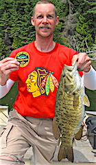 Special Trophy Smallmouth Bass Fishing at Fireside Lodge