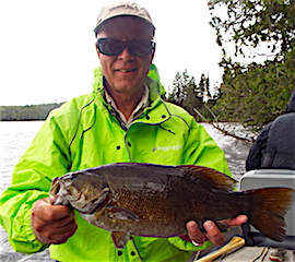 Super Fishing for Trophy Smallmouth Bass at Fireside Lodge