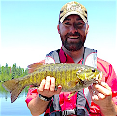 Fabulous Fishing for Smallmouth Bass by Mark Dusing