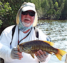 Smallmouth Bass Fsihing is Best by Paul Dusing