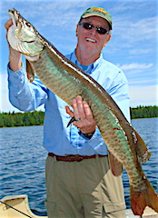 Muskie Fishing at is Best at Fireside Lodge