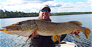 GREAT BIG Northern Pike Fishing at Fireside Lodge by Jason