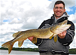 BIG Northern Pike Fishing by Tony Capecchi