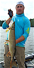 Terrific Fishing For Northern Pike by Mike