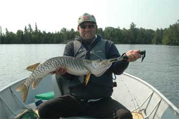 BIG Tiger Muskie lodge in canada