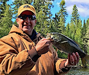 GREAT BIG Smallmouth Bass Fishing by Ken Dlhy at Fireside Lodge
