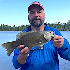 BIG Smallmouth Bass are a Blast Fishing at Fireside Lodge in Canada