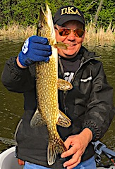 Fishing Northern Pike in Canada Where I did 20 Years Ago by Don