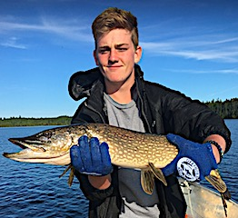 First Time Fishing Canada Catching BIG Northern Pike at Fireside Lodge