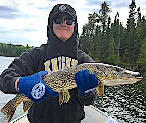 Great Fishing with Dan for Big Northern Pike by Jacob in Canada