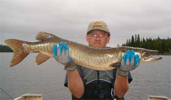 ontario lake cabins muskie fishing
