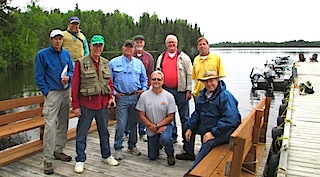 Friends Family Fishing in Canada at Fireside Lodge