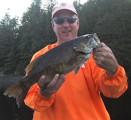 Trophy Smallmouth Bass Fishing at Fireside Lodge Canada by Mike Muir