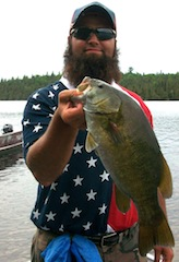 My 1st Trophy Smallmouth Bass Fishing in Canada by Tyler Osborne