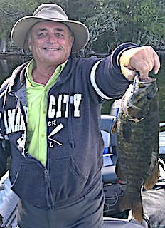 Show Me The Trophy Smallmouth Bass Fishing by Dallas in Canada