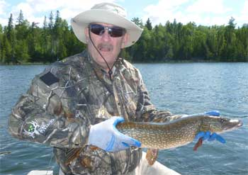 First Northern Pike Fishing Trip in Canada