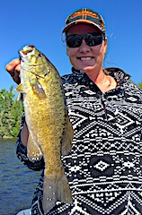 Kris Winkelman Trophy Smallmouth Fishing at Fireside Lodge in Canada