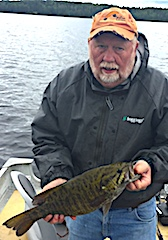 Trophy Smallmouth Bass Fishing with my Grandson by Lloyd at Fireside Lodge in Canada