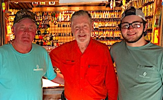 Three Generations Fishing Trip by Tackle Shop at Fireside Lodge in Canada