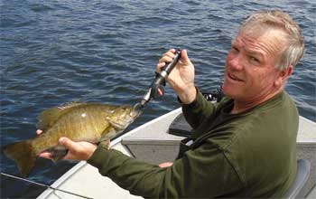 many big smallmouth bass like this in canada
