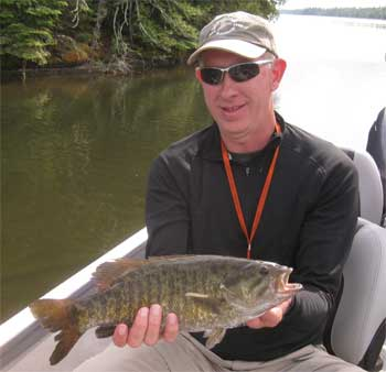 many smallmouth trophy class size fishing canada