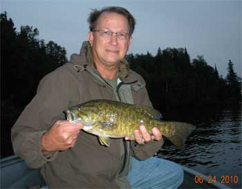 big bass fun at smallmouth lodge ontario
