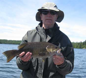 angling for trophy smallmouth in canada