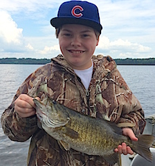 HUGE 19.5-inch Trophy Smallmouth Bass Fishing at Fireside Lodge