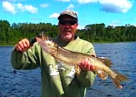 Fast Action Northern Pike Fishing by Geno in Canada